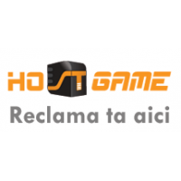 Your advertising on hostgame.ro on one month